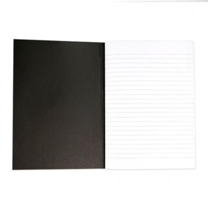 Lily and Val Set of 2 Notebooks. One notebook has Kraft lined paper and the other white lined paper. Each notebook comes with approx pages each.