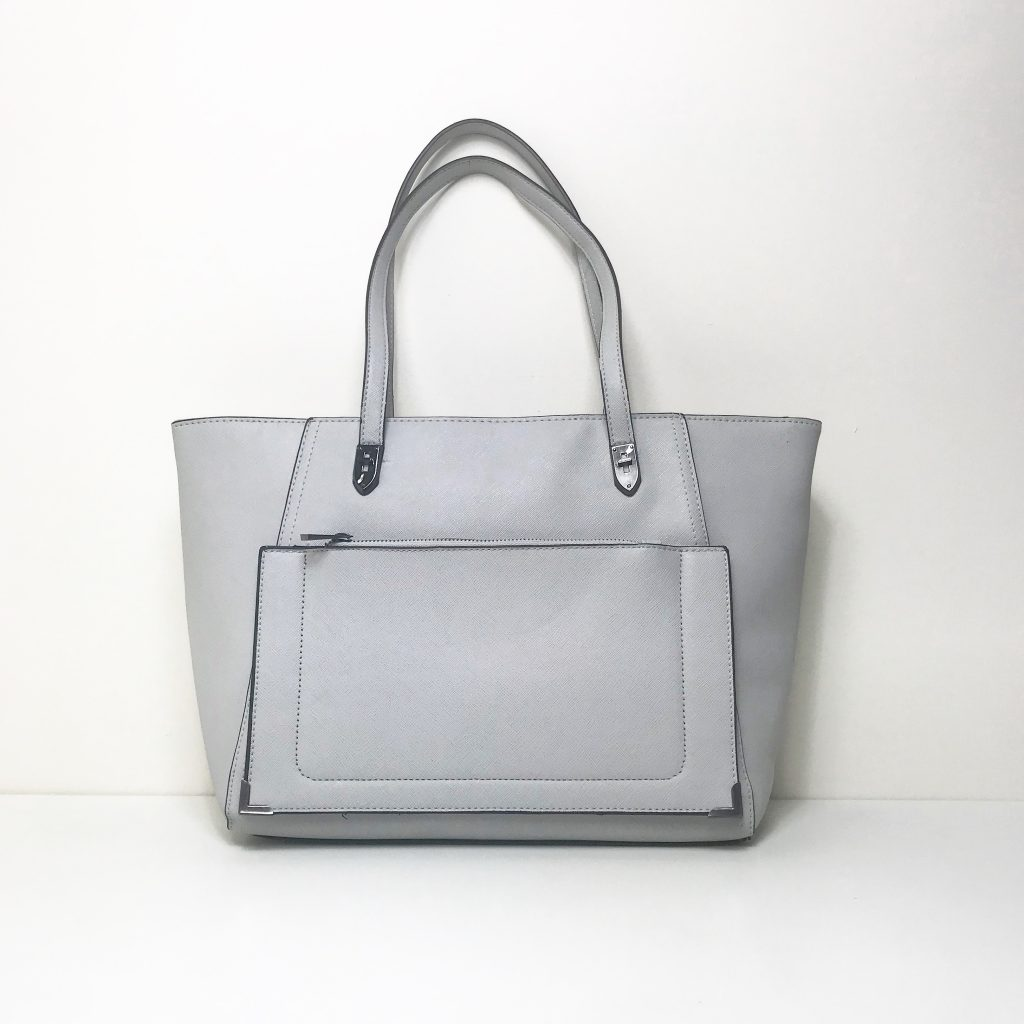 Travel Accessories - Wisteria London Grey Kensington Handbag