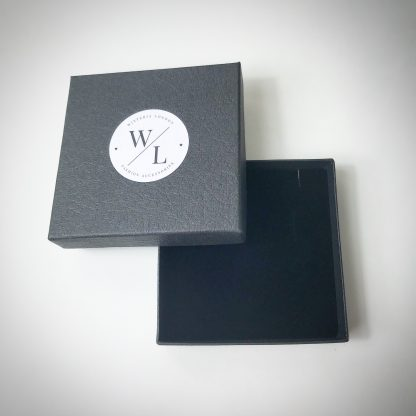 Wisteria London Packaging. All jewellery comes in a branded gift box