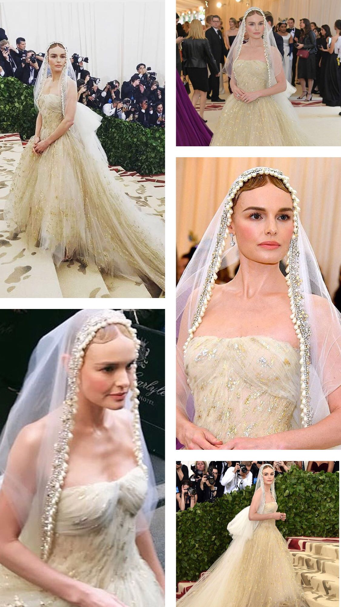 Kate Bosworth at the Met Gala 2018