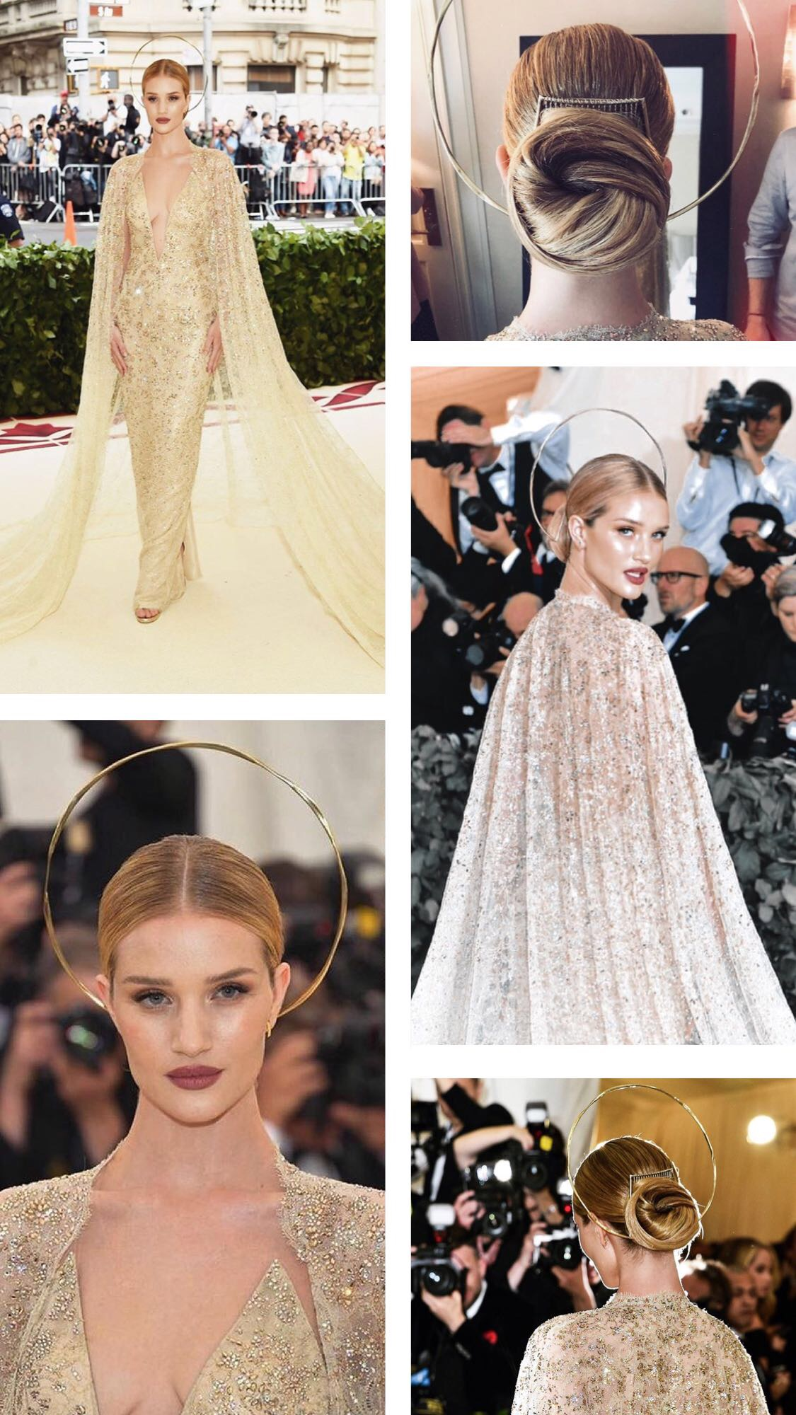 Rosie Huntington Whitely at the Met Gala 2018