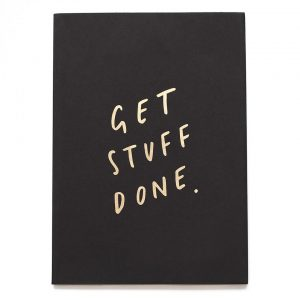Get Stuff Done A5 Notebook