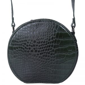 Sloane Circle Crossbody Bag in Green. Also available in red