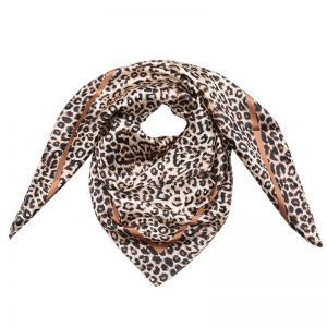 Nala Leopard Print Scarf