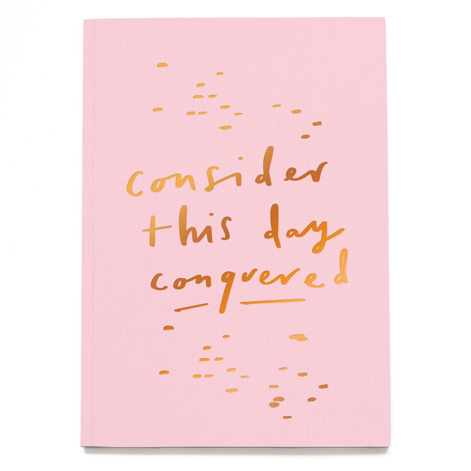 The Ultimate Gift Guide- Consider This Day Conquered A5 Planner