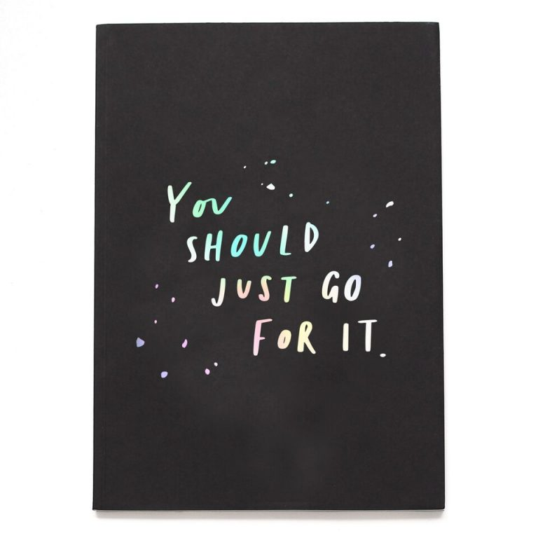 You Should Just Go For It A5 Planner