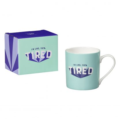 Yes Studio 110% Tired Mug