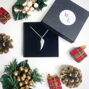 The Jewellery Lovers Christmas Gift Guide - Angel Wing Necklace