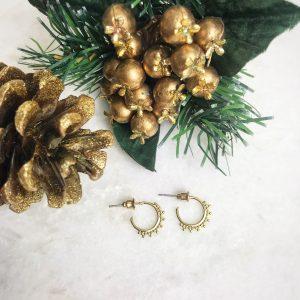 The Jewellery Lovers Christmas Gift Guide - Mini Astrid Beaded Hoop Earrings