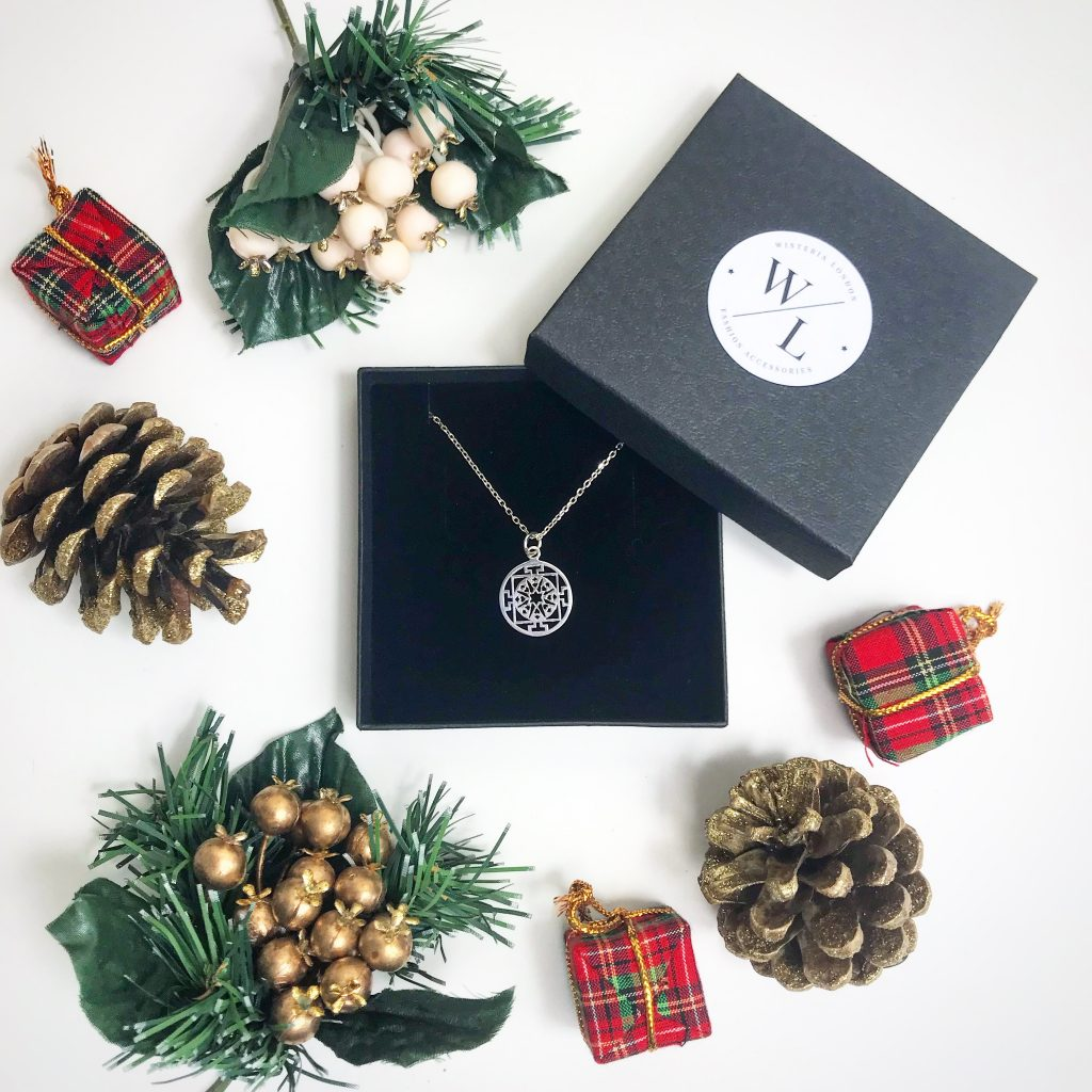 The Jewellery Lovers Christmas Gift Guide - Sterling Silver Round Filigree Necklace