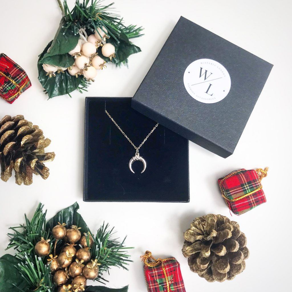 The Jewellery Lovers Christmas Gift Guide - Sterling Silver Small Horn Necklace