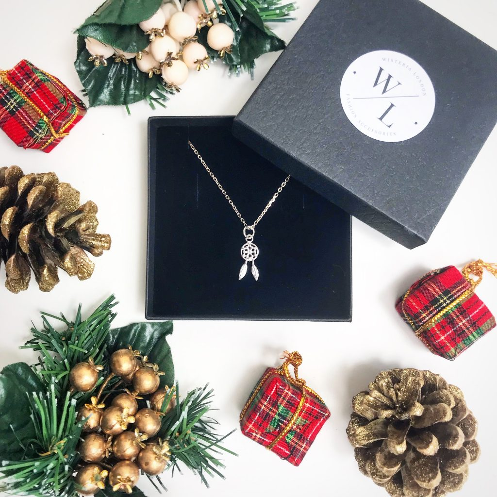 The Jewellery Lovers Christmas Gift Guide - Sterling Silver Dreamcatcher Necklace