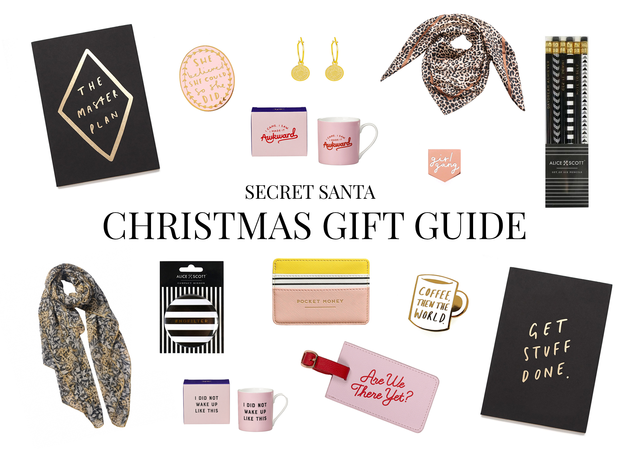 Secret Santa Christmas Gift Guide