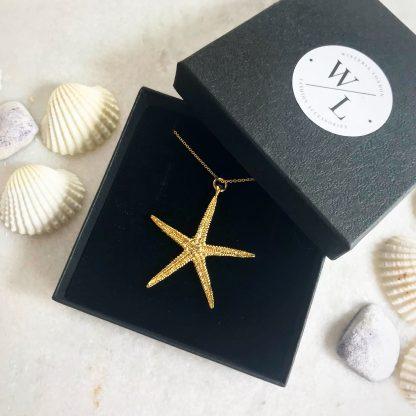 Cordelia Gold Starfish Necklace