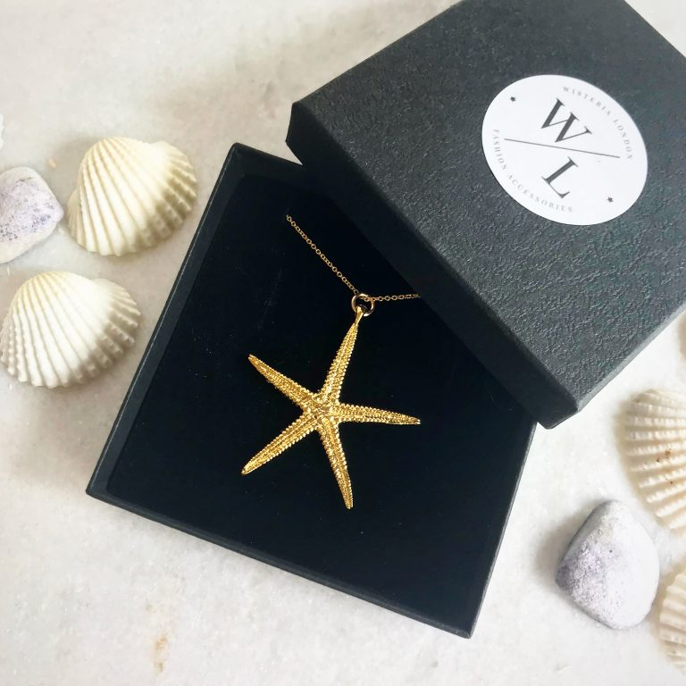 Cordelia Gold Starfish Necklace