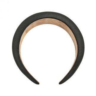 Connie Black Padded Headband
