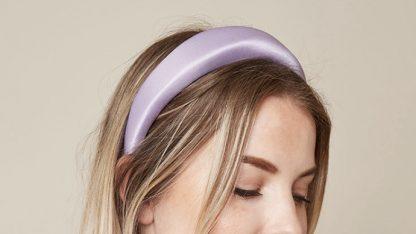 Connie Lilac Padded Headband