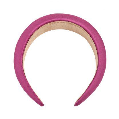 Connie Purple Padded Headband