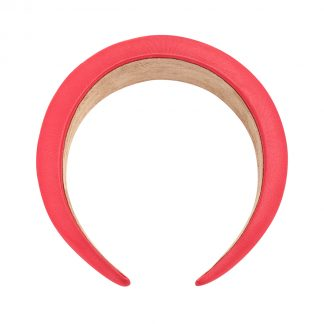 Connie Red Padded Headband