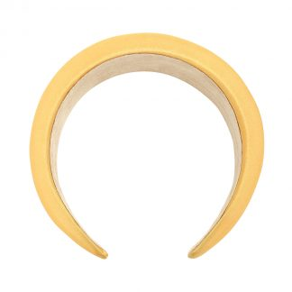 Connie Yellow Padded Headband