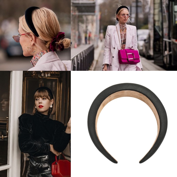4 Headband Styles Having Their Moment - Back To Black