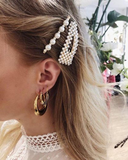 6 ways to style Pearl Hair Accessories