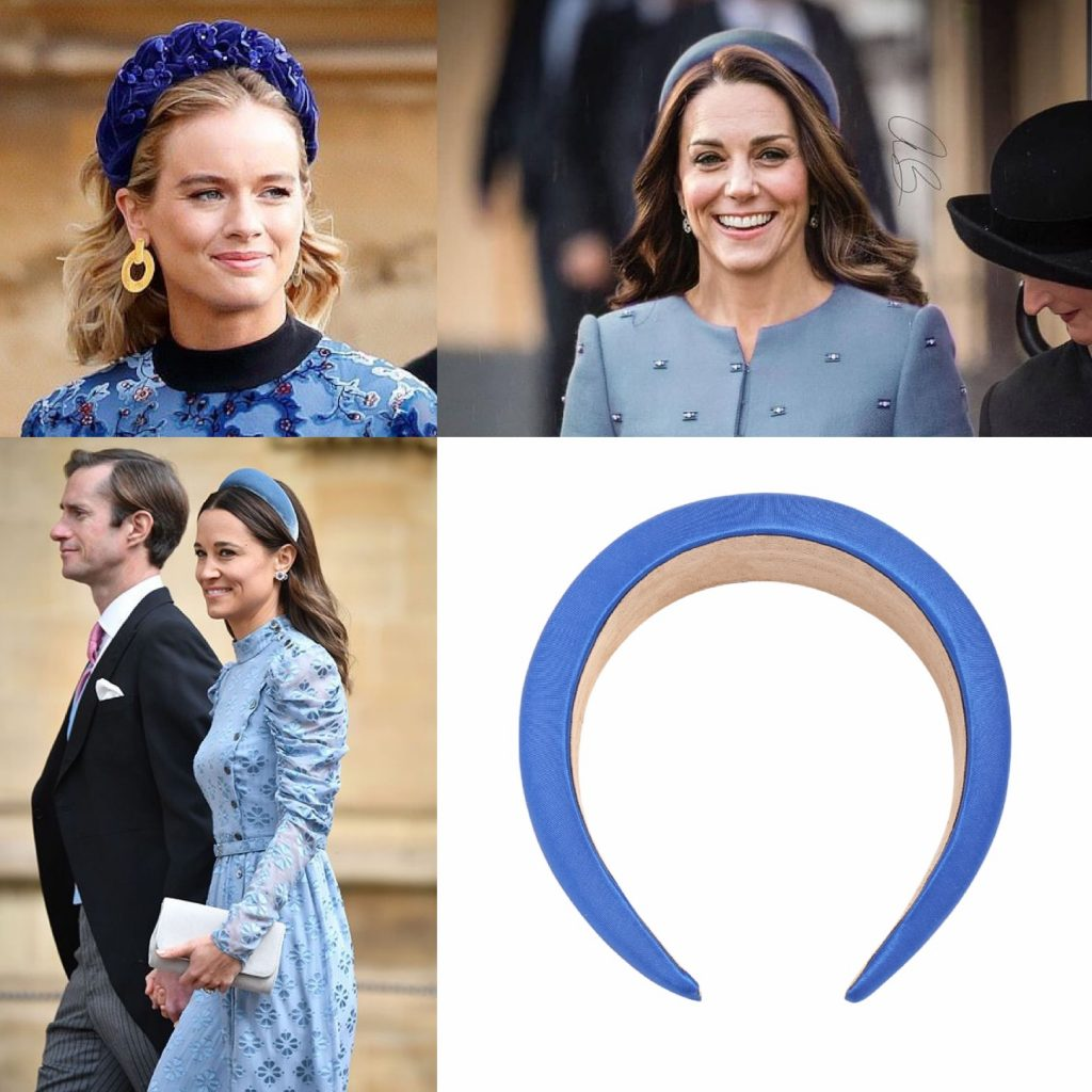 4 Headband Styles Having Their Moment - Royal Blue Approval