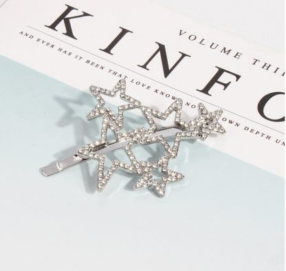Diamante Star Hair Clip