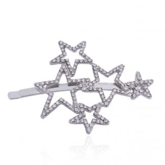 Diamante Star Hair Clip