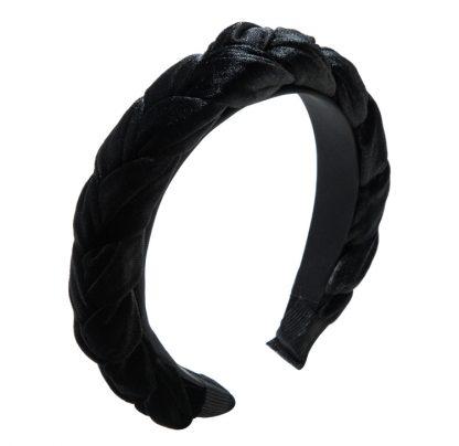 Blair Black Braided Headband