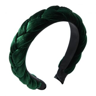 Blair Green Braided Headband