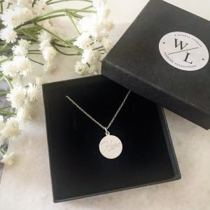 Sterling Silver Hope Necklace