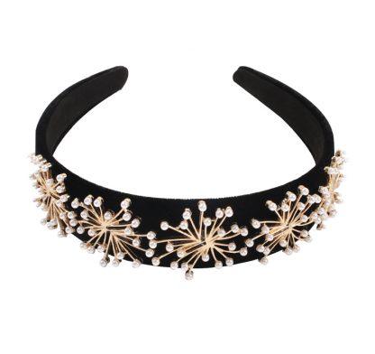 Marguerite Pearl Embellished Headband