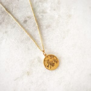 10 Necklaces We Are Loving Right Now - Alpine Mountain Necklace