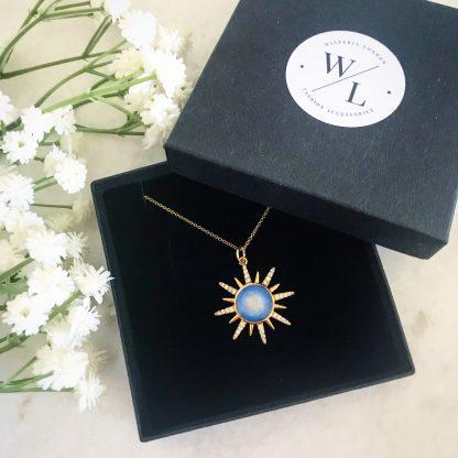 Solana Sunburst Necklace