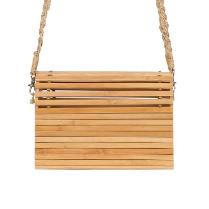 Indi Bamboo Crossbody Bag