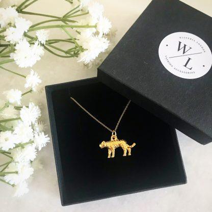 Nala Gold Leopard Necklace