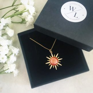 Solange Sunburst Necklace