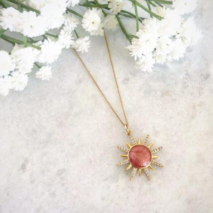 Solange Sunburst Necklace