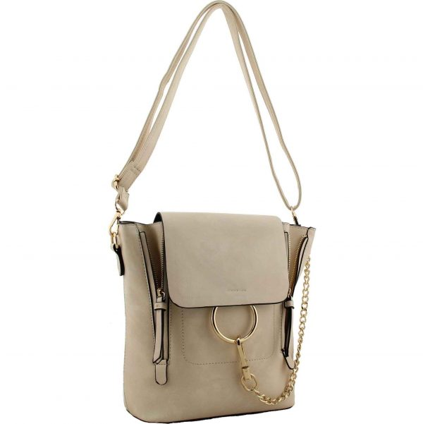Chelsea Beige Cross Body Bag