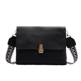 Clara Black Shoulder Bag