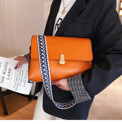 Clara Orange Shoulder Bag
