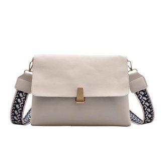 Clara White Shoulder Bag