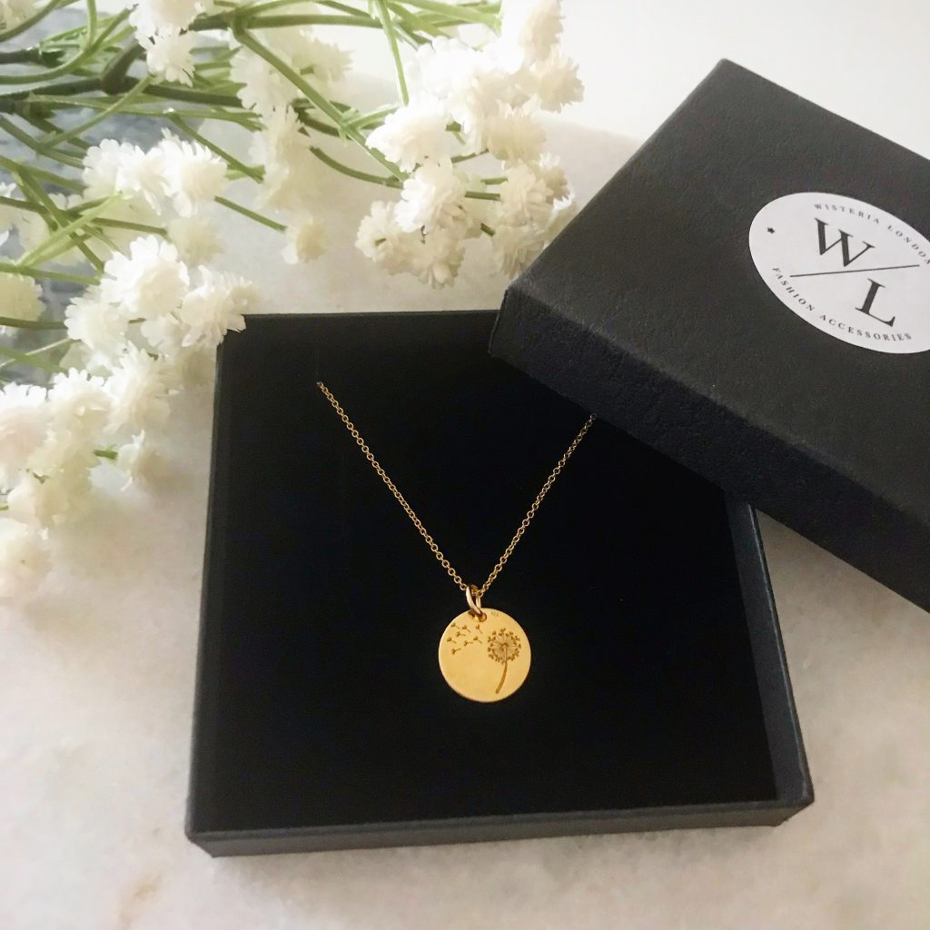 Say it with Flowers this Mother's Day - Thandie Dandelion Necklace