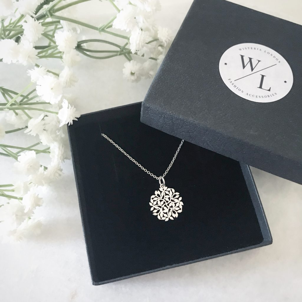 Say it with Flowers this Mother's Day - Entwined Sterling Silver Leaf Necklace