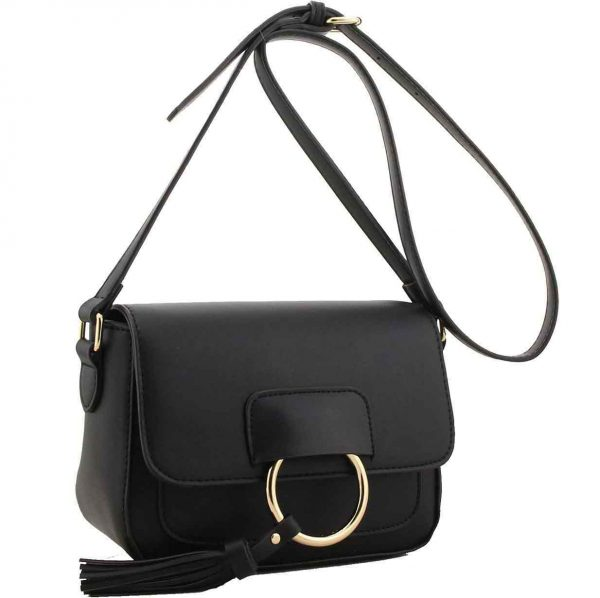 Fitzrovia Black Cross Body Bag