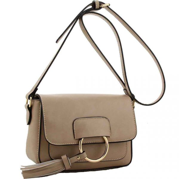 Fitzrovia Mink Cross Body Bag