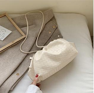 Henrietta White Pouch Clutch Bag