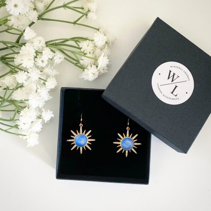 Solana Sunburst Earrings