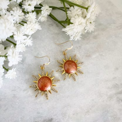Solange Sunburst Earrings